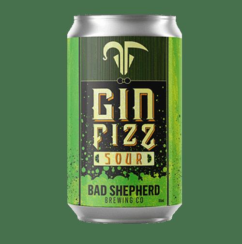Bad Shepherd Gin Fizz Sour Ale 355ml Can