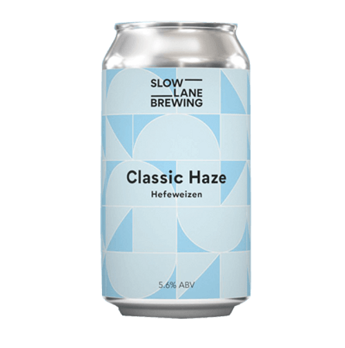 Slow Lane Classic Haze Hefeweizen 375ml Can