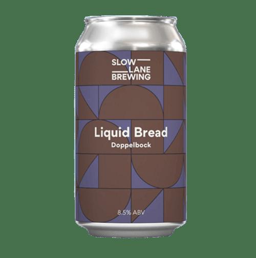 Slow Lane Liquid Bread Doppelbock 375ml Can