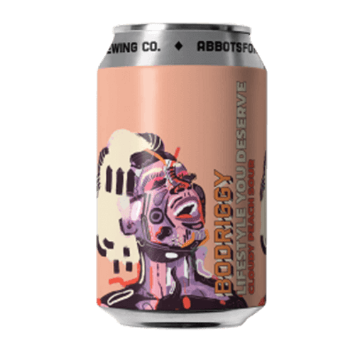 Bodriggy Lifestyle You Deserve Cloudy Peach Sour Ale 355ml Can