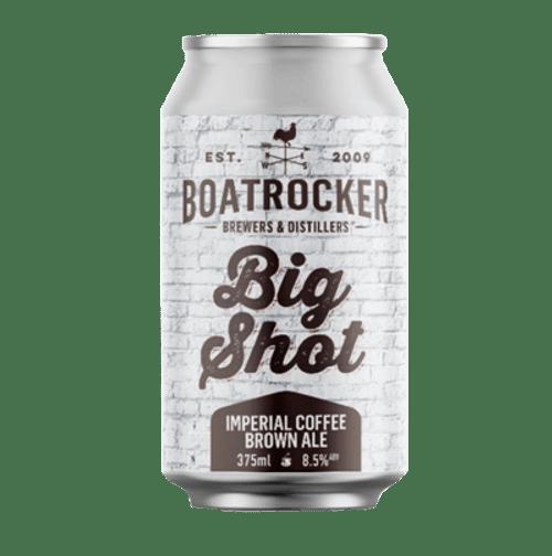Boatrocker Big Shot Imperial Coffee Brown Ale 375ml Can