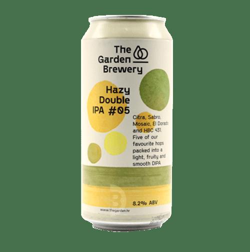 The Garden Hazy DIPA #5 440ml Can