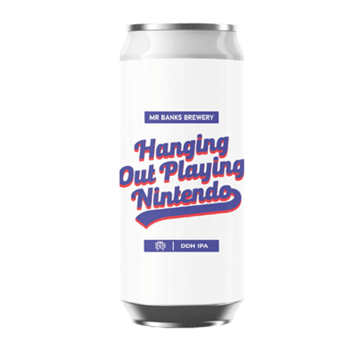 Mr Banks Hanging Out Playing Nintendo DDH IPA 500ml Can