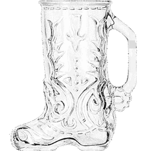 Libbey Beer Boot Glass Mug