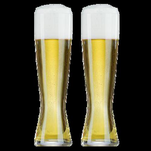 Spiegelau Tall Pilsner Beer Glass Twin Pack