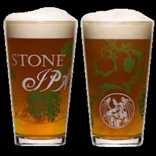 Stone IPA Pint Glass