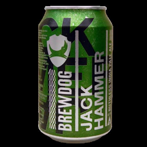 BrewDog Jack Hammer IPA 330ml Can