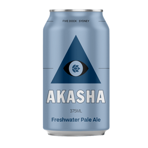 Akasha Freshwater Pale Ale 375ml Can