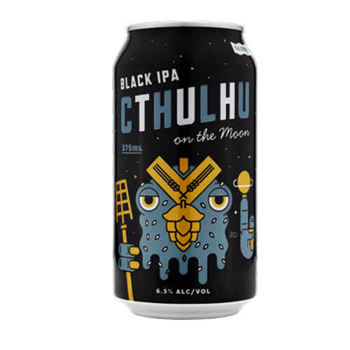 Kaiju! Cthulhu On the Moon Black IPA 375ml Can