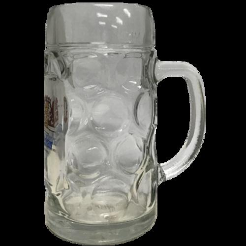 Weihenstephaner Dimple Stein Beer Glass (500ml)