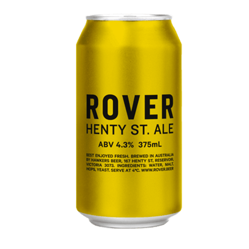 Hawkers Rover Henty Street Ale