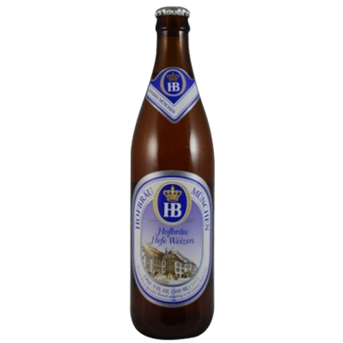 Hofbrau Hefeweizen 500ml Bottle