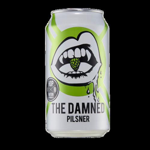 Hop Nation The Damned Pilsner 375ml Can