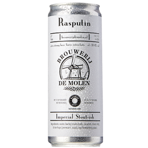 De Molen Rasputin Imperial Stout 330ml Can