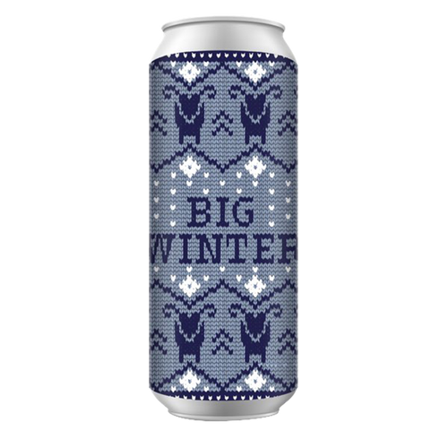 New England Big Winter Belgian Strong Dark Ale 2018