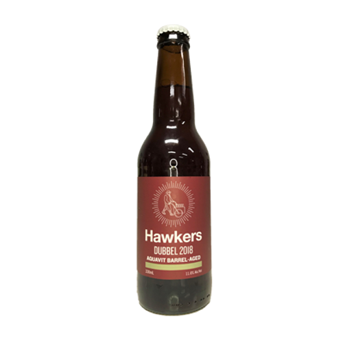 Hawkers Aquavit Barrel-Aged Dubbel 2018