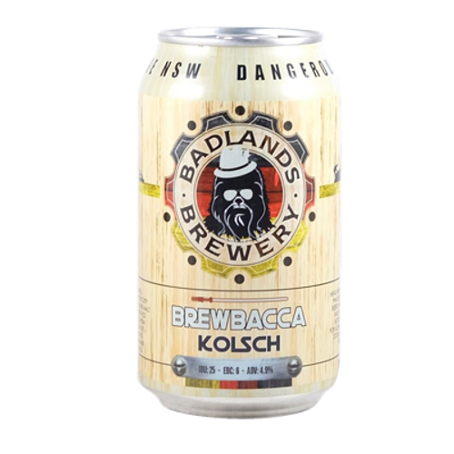Badlands Brewbacca Kölsch 355ml Can