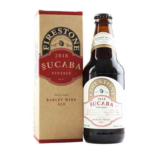 Firestone Walker Sucaba 2018 355ml Bottle (1 Bottle Limit)
