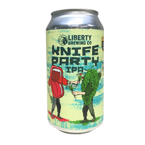 Liberty Knife Party IPA 375ml Can
