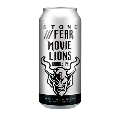 Stone Fear. Movie. Lions Double IPA