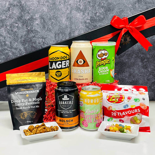 Valentine's Long Stem Brew Gift Box