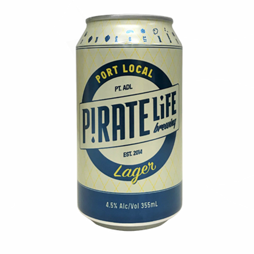 Pirate Life Port Local Lager