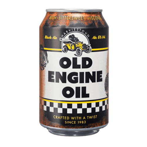 Harviestoun Old Engine Oil 330ml Can