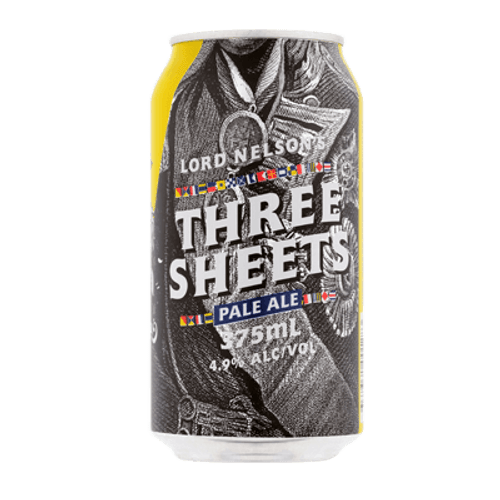 Lord Nelson Three Sheets Pale Ale 375ml Can