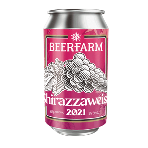 Beerfarm Shirazzaweiss