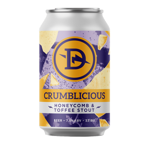 Dainton Crumblicious Honeycomb and Toffee Stout