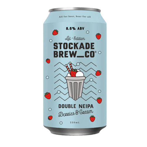 Stockade Double NEIPA Berries & Cream