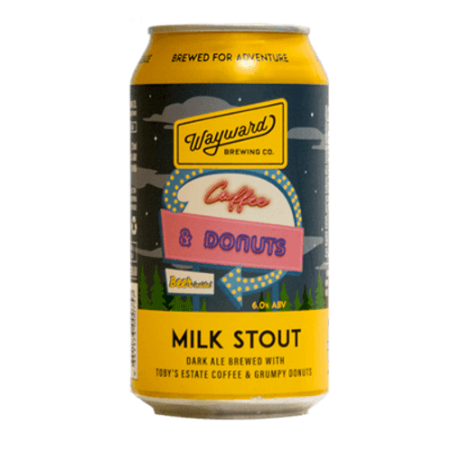 Wayward Coffee and Donuts Stout (1 Can Limit)