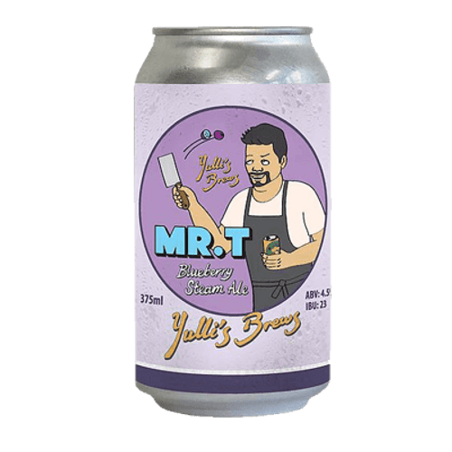 Yulli's Brews Mr. T Blueberry Steam Ale