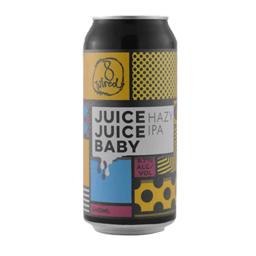 8 Wired Juice, Juice Baby Hazy IPA