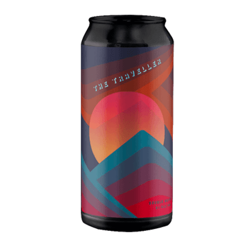 Deeds/Carwyn Cellars The Traveller Hazy DIPA (1 Can Limit)