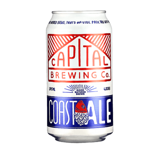 Capital Coast Ale 375ml Can