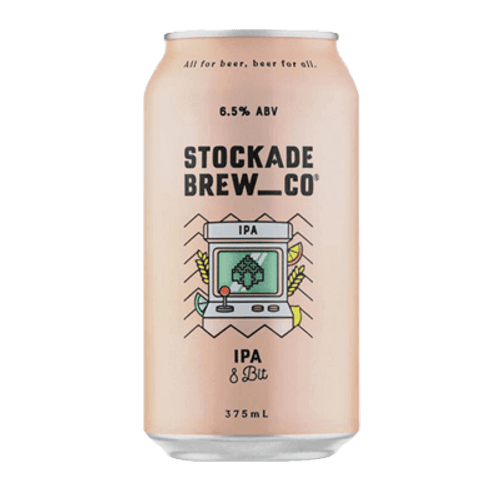 Stockade 8 Bit IPA 375ml Can