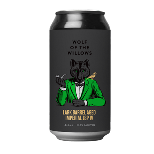 Wolf of the Willows Lark Barrel Aged Imperial JSP