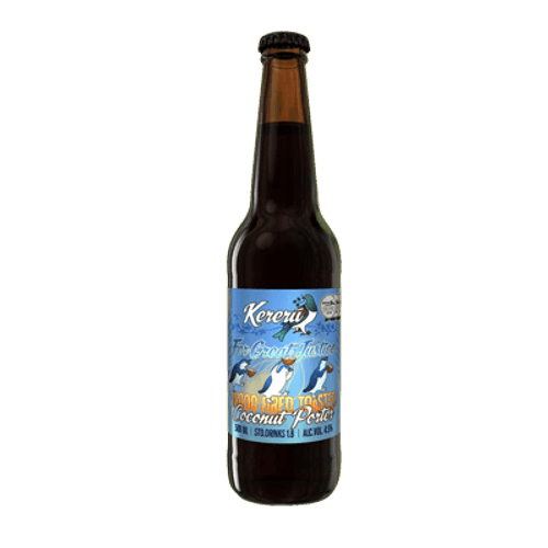Kereru For Great Justice Coconut Porter