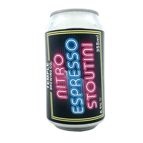 Temple Nitro Espresso Stoutini Stout (2 Cans Limit)