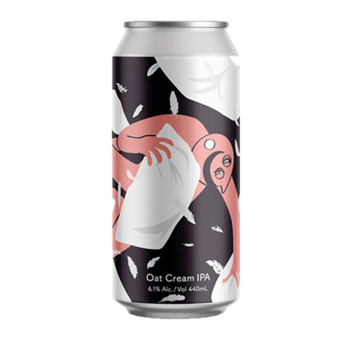 Tallboy and Moose Pillow Fight Oat Cream IPA