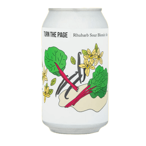 Hop Nation Site Turn the Page Rhubarb and Vanilla Sour