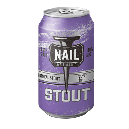Nail Oatmeal Stout 375ml Can