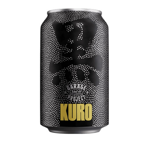 Garage Project Kuro Japanese Inspired Black Lager