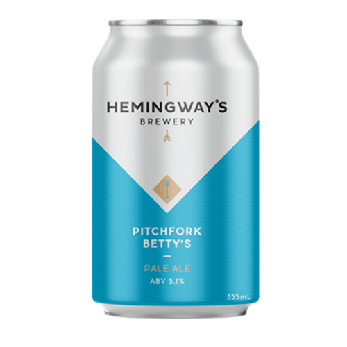 Hemingway's Pitchfork Betty's Pale Ale