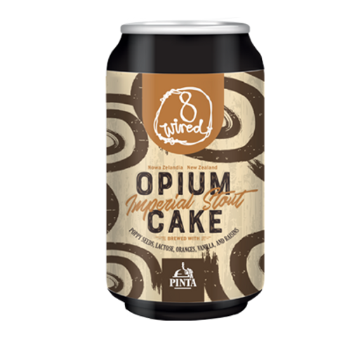 8 Wired Opium Cake Imperial Stout