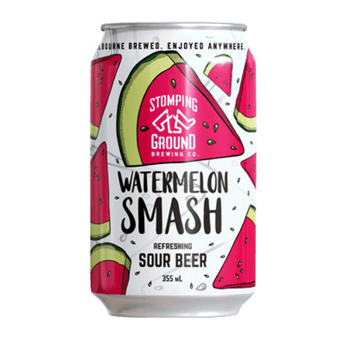 Stomping Ground Watermelon Smash Sour Ale