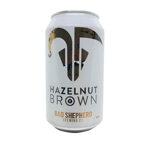 Bad Shepherd Hazelnut Brown Ale 355ml Can