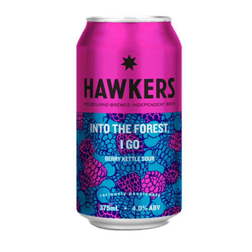 Hawkers Into the Forest, I Go Berry Sour