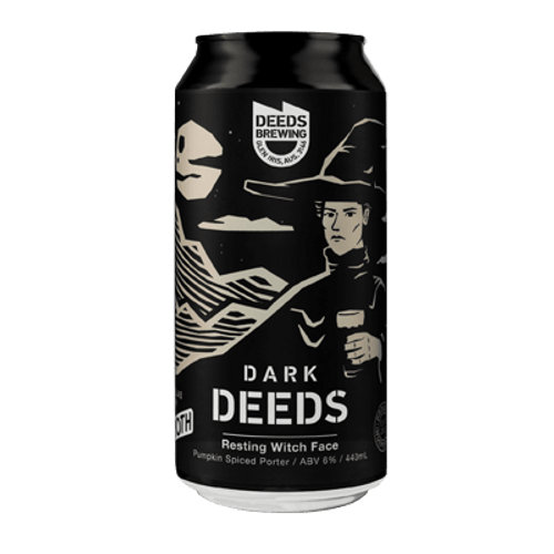 Deeds/Froth Resting Witch Face Pumpkin Porter